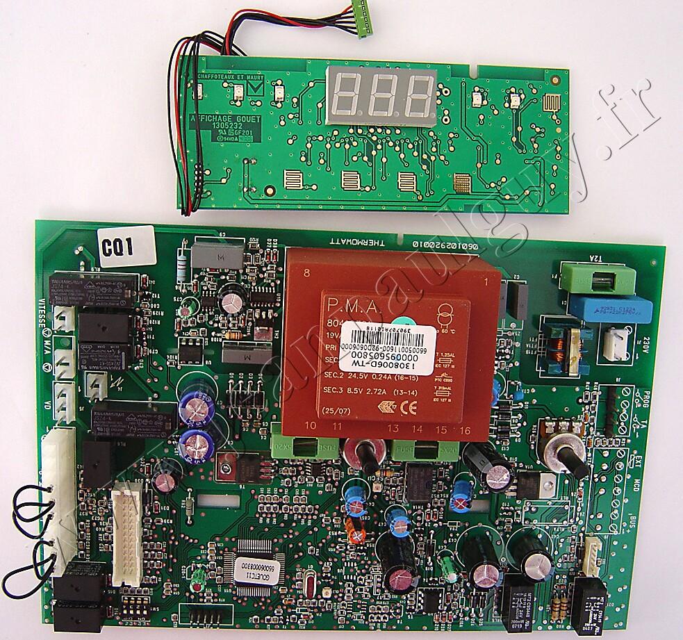 circuits imprimes gouet mcu reference 61307041 pour chaudiere chaffoteaux niagara delta. Black Bedroom Furniture Sets. Home Design Ideas