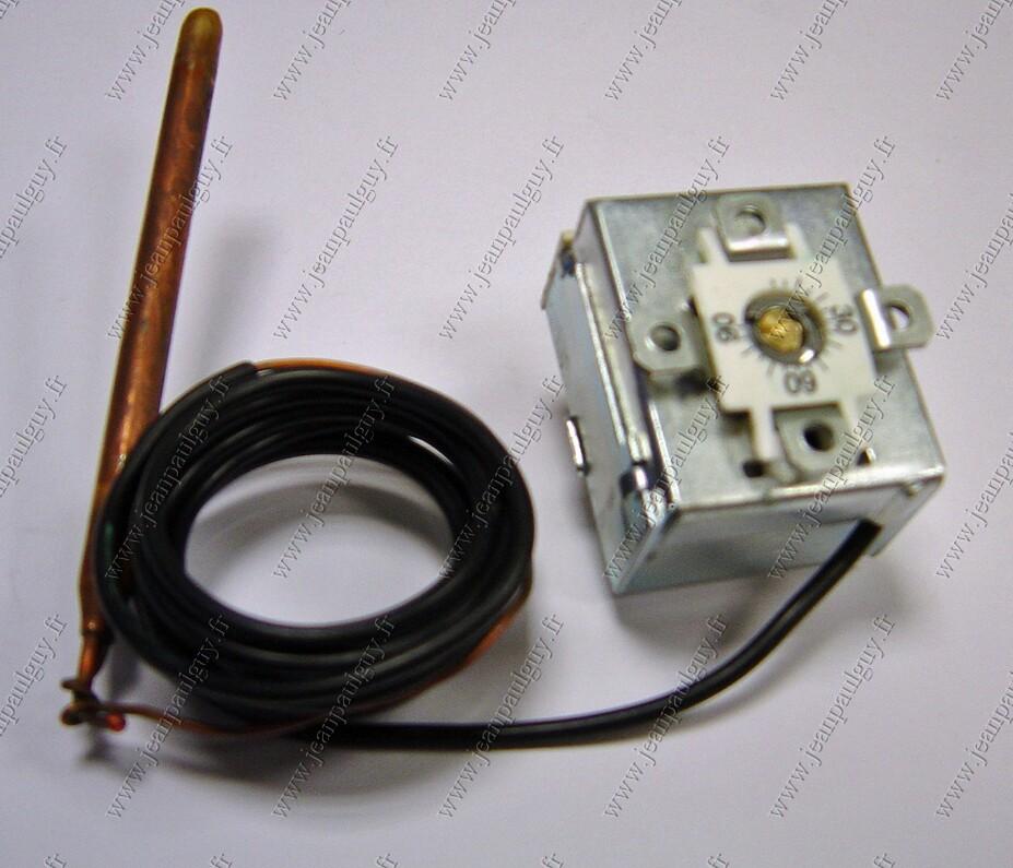 Aquastat thermostat pour chaudiere gaz au sol franco belge - Reglage thermostat chauffage gaz ...