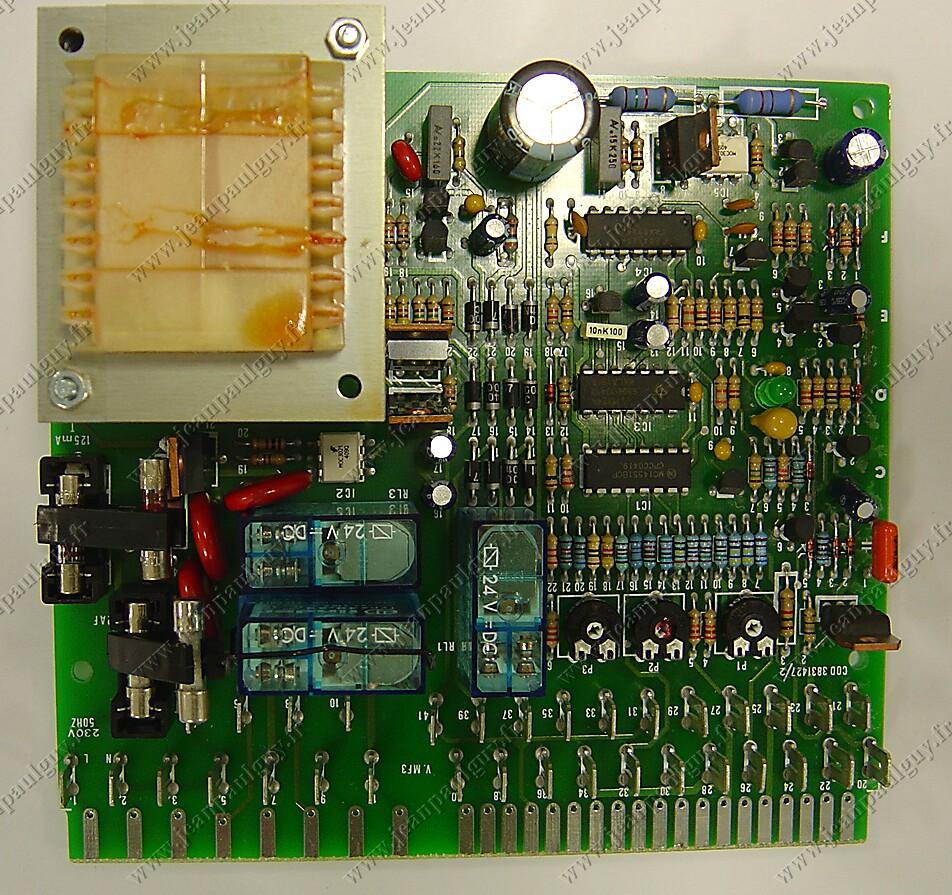 Circuit imprim pour chaudi re ferroli - Nettoyer circuit imprime ...