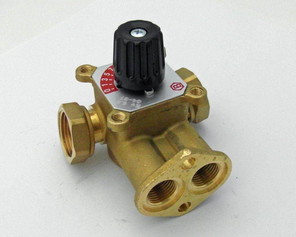 4 voies voies en laiton du robinet adaptateur tuyau vanne - Vanne 4 voies ...
