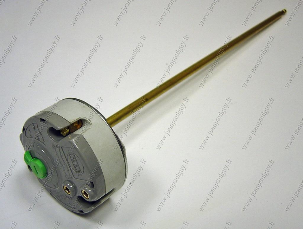 691219 thermostat embrochable tbs longueur 300 mm 220v pour chauffe eau - Demonter thermostat chauffe eau ...