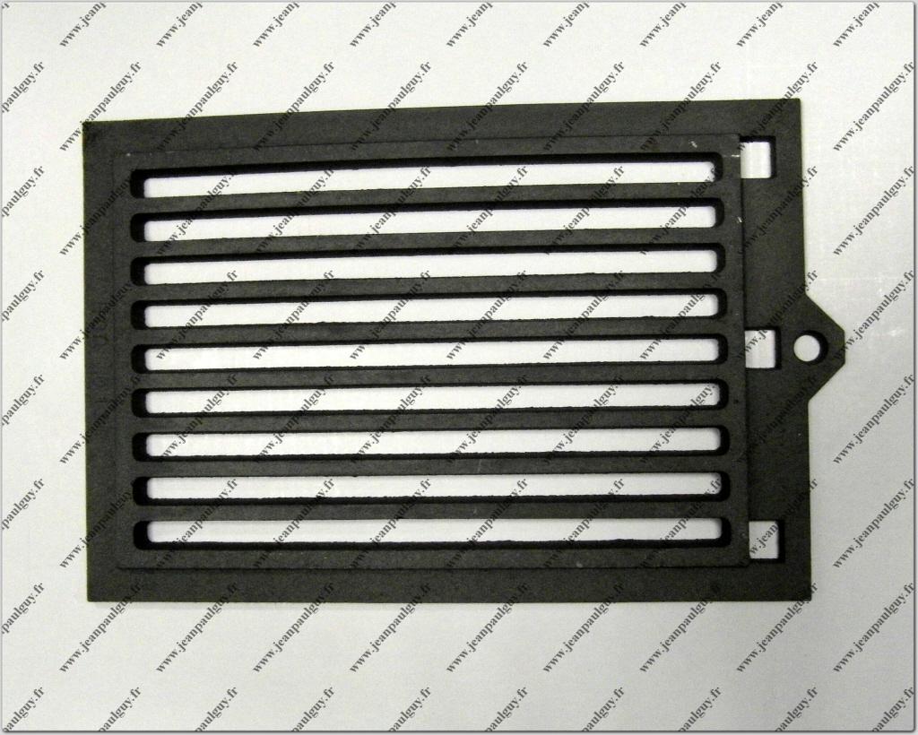87168001300 grille fonte horizontale n 1 tc35. Black Bedroom Furniture Sets. Home Design Ideas