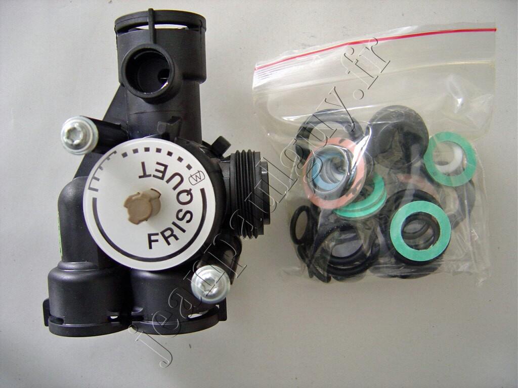 F3aa40736 vanne 4 voies pour chaudiere frisquet - Chaudiere frisquet hydroconfort ...