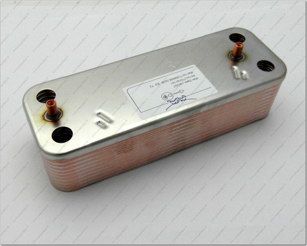 Sx5689930 echangeur sanitaire 20 plaques chappee idealsrandard initia max 224 - Changer groupe de securite chaudiere gaz ...