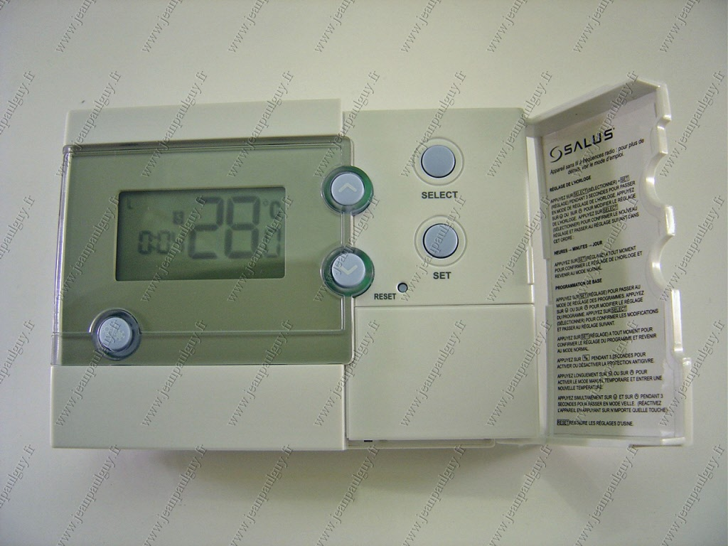 thermostat et regulation en fonction de l 39 ambiance. Black Bedroom Furniture Sets. Home Design Ideas