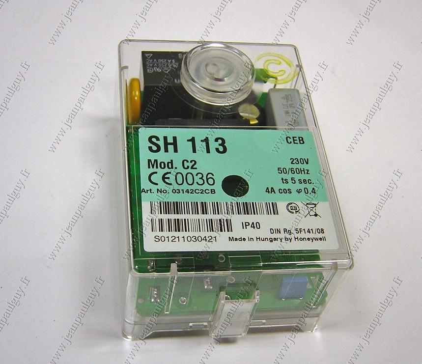 Boite de contr/ôle fioul SH 113